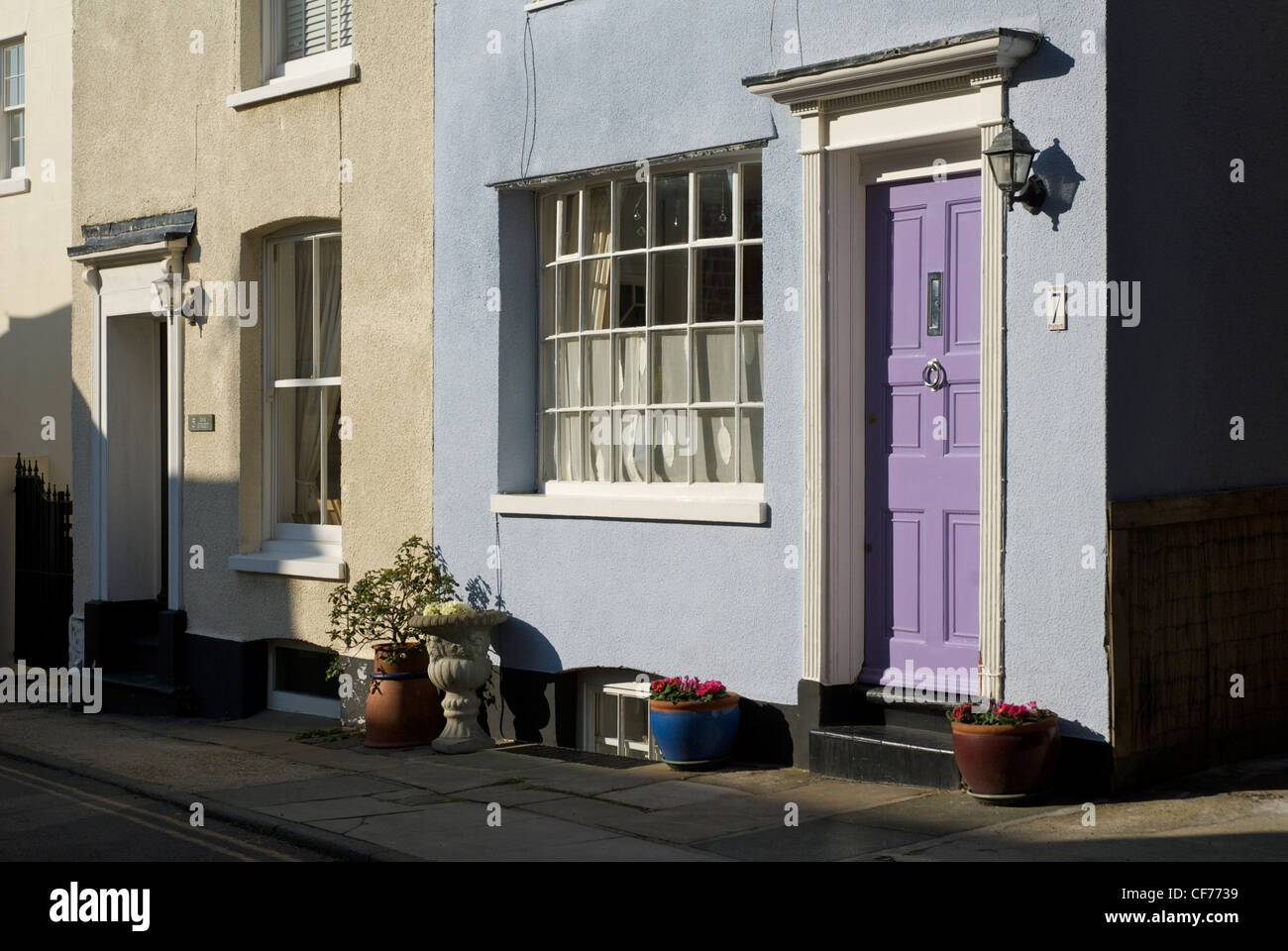 House in Deal, Kent, England, UK - Stock Image