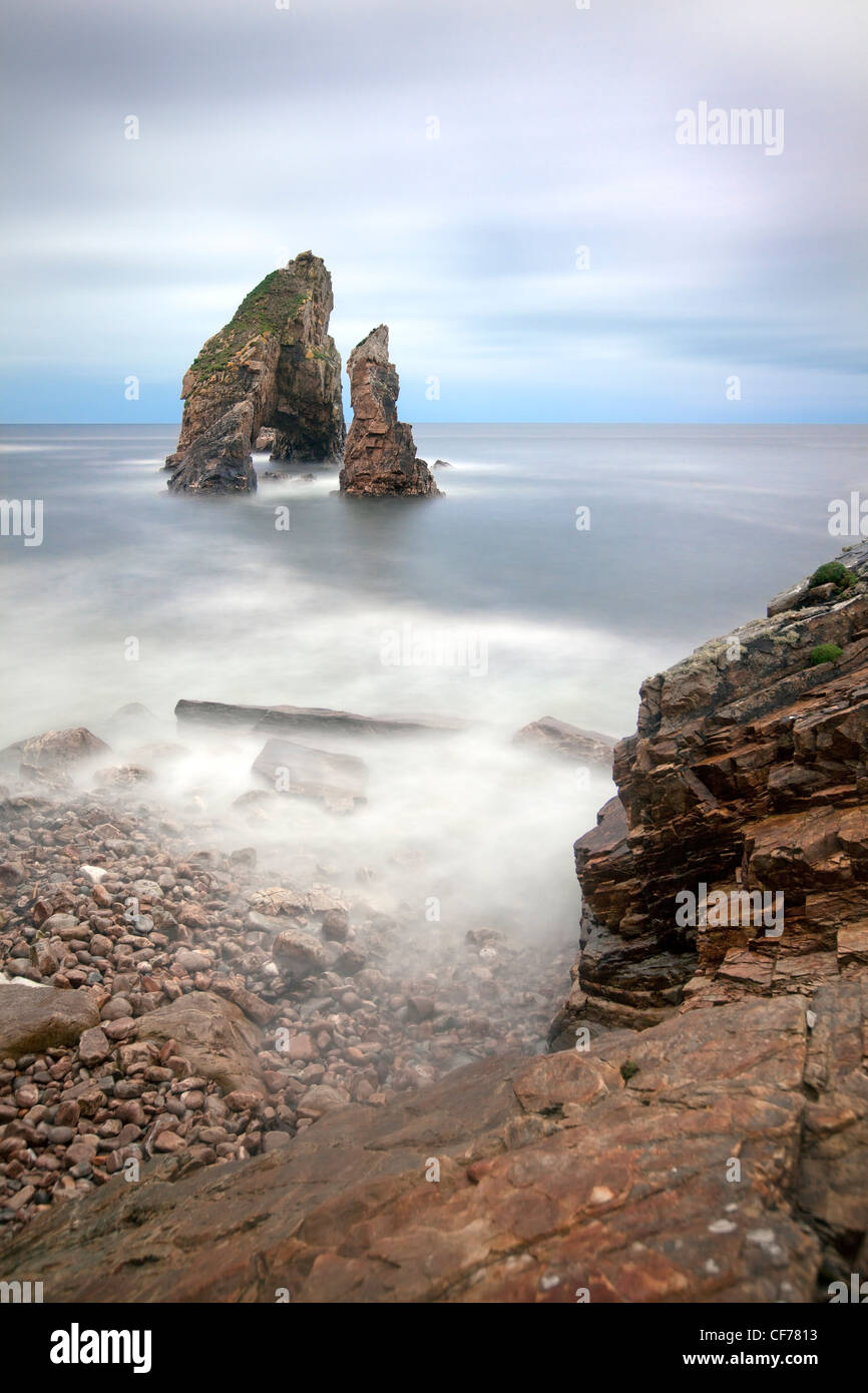 Crohy head arch, Donegal, Ireland. - Stock Image