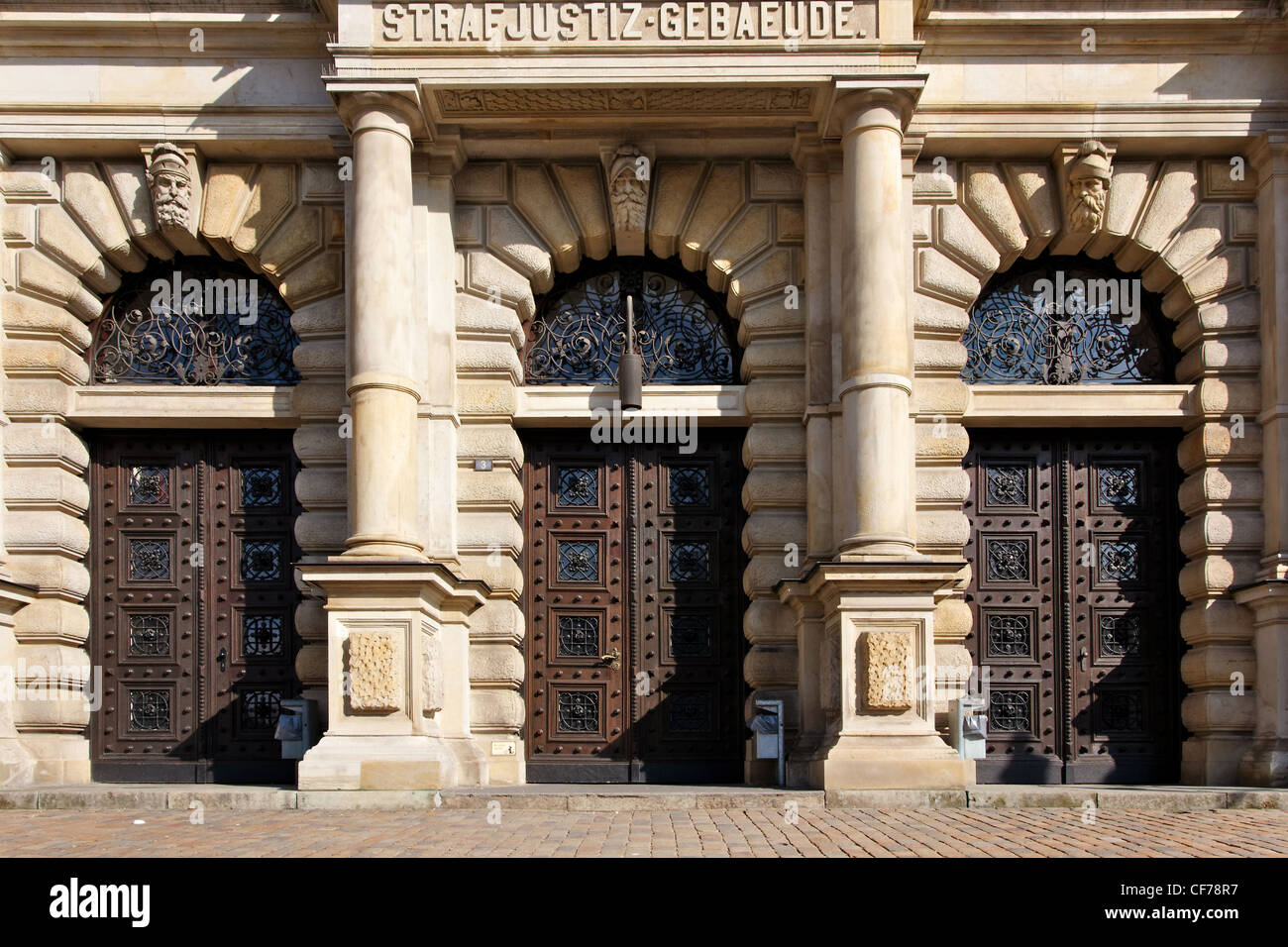 https www alamy com stock photo portal of the criminal justice court building of hamburg germany 43801163 html
