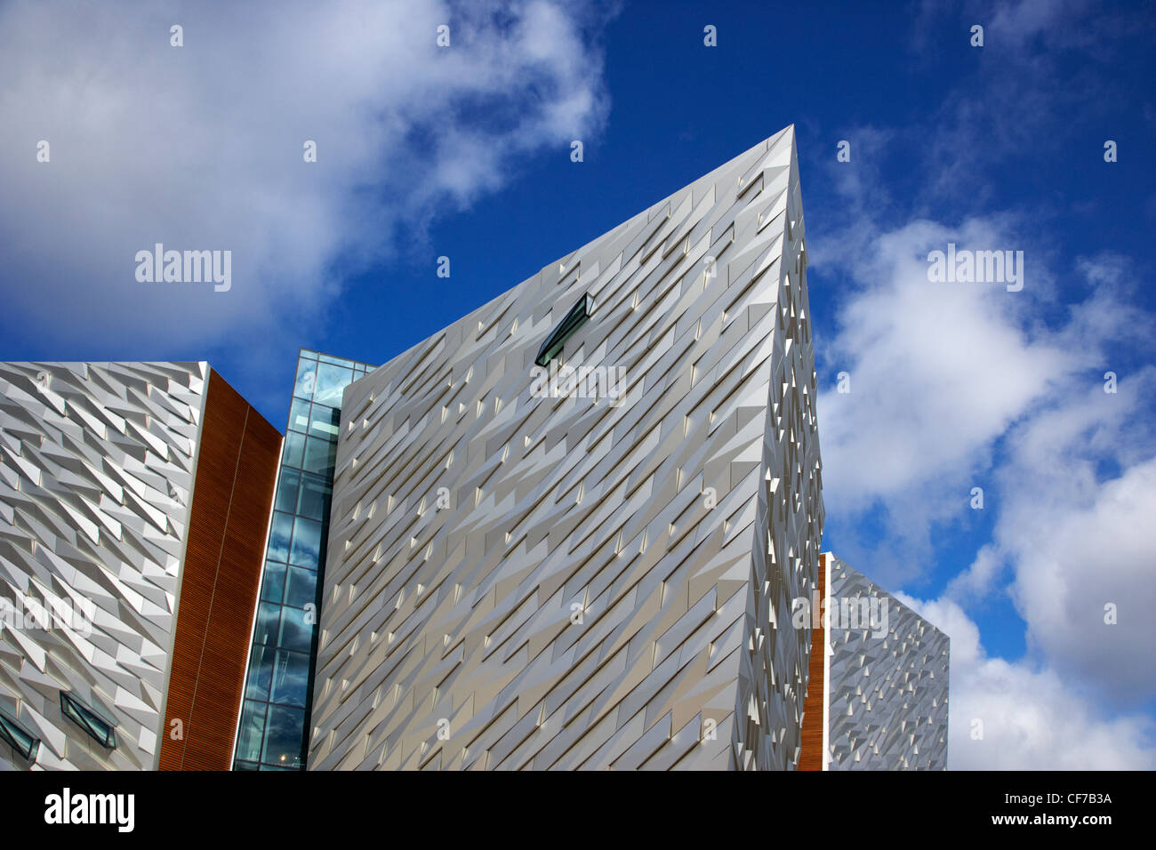 titanic signature building museum titanic quarter belfast northern ireland Stock Photo