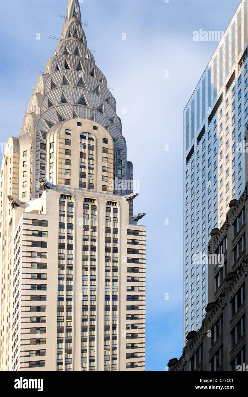 The Chrysler Building in Manhattan, New York City. - Stock Image