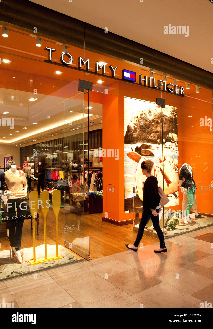 57a9c142 Tommy Hilfiger store, Westfield Shopping centre Stratford London UK ...