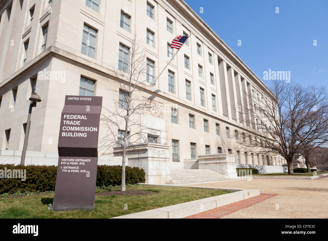 Federal Trade Commission building - Washington, DC USA - Stock Image