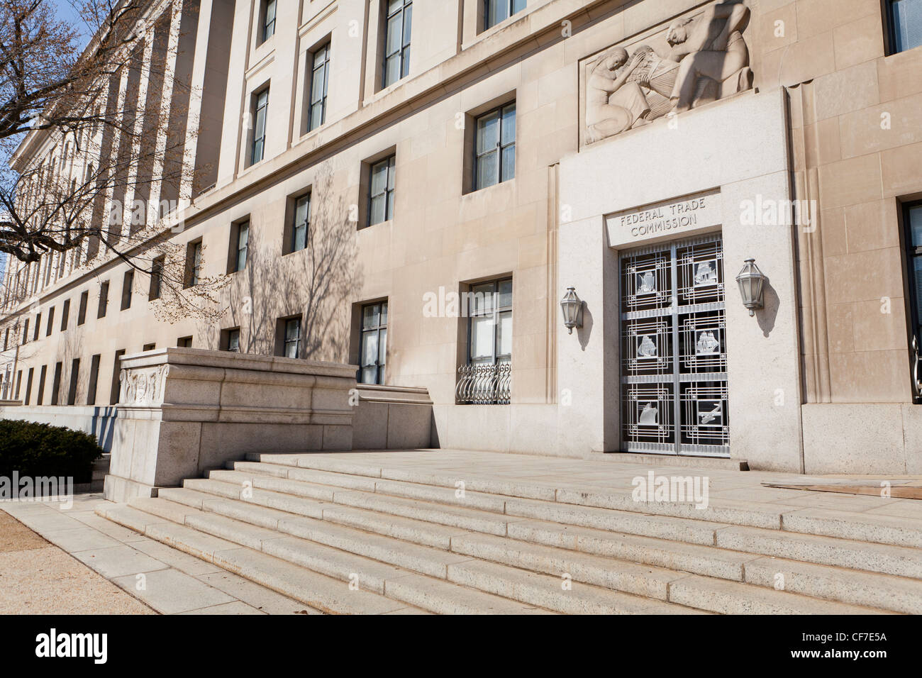 Federal Trade Commission building - Stock Image