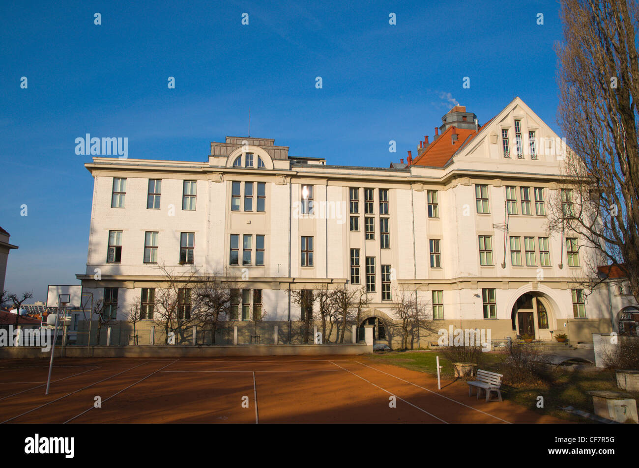 Fyzikalni Ustav the Institute of Physics the Department Cukrovarnicka in Orechovka district Prague Czech Republic - Stock Image