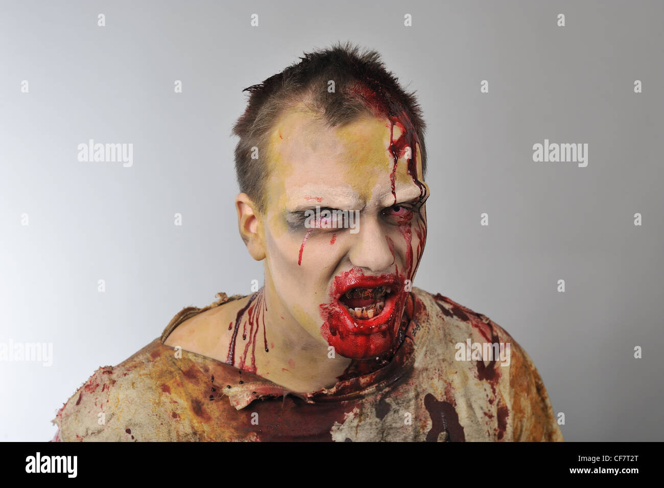 Zombie, the walking dead - Stock Image