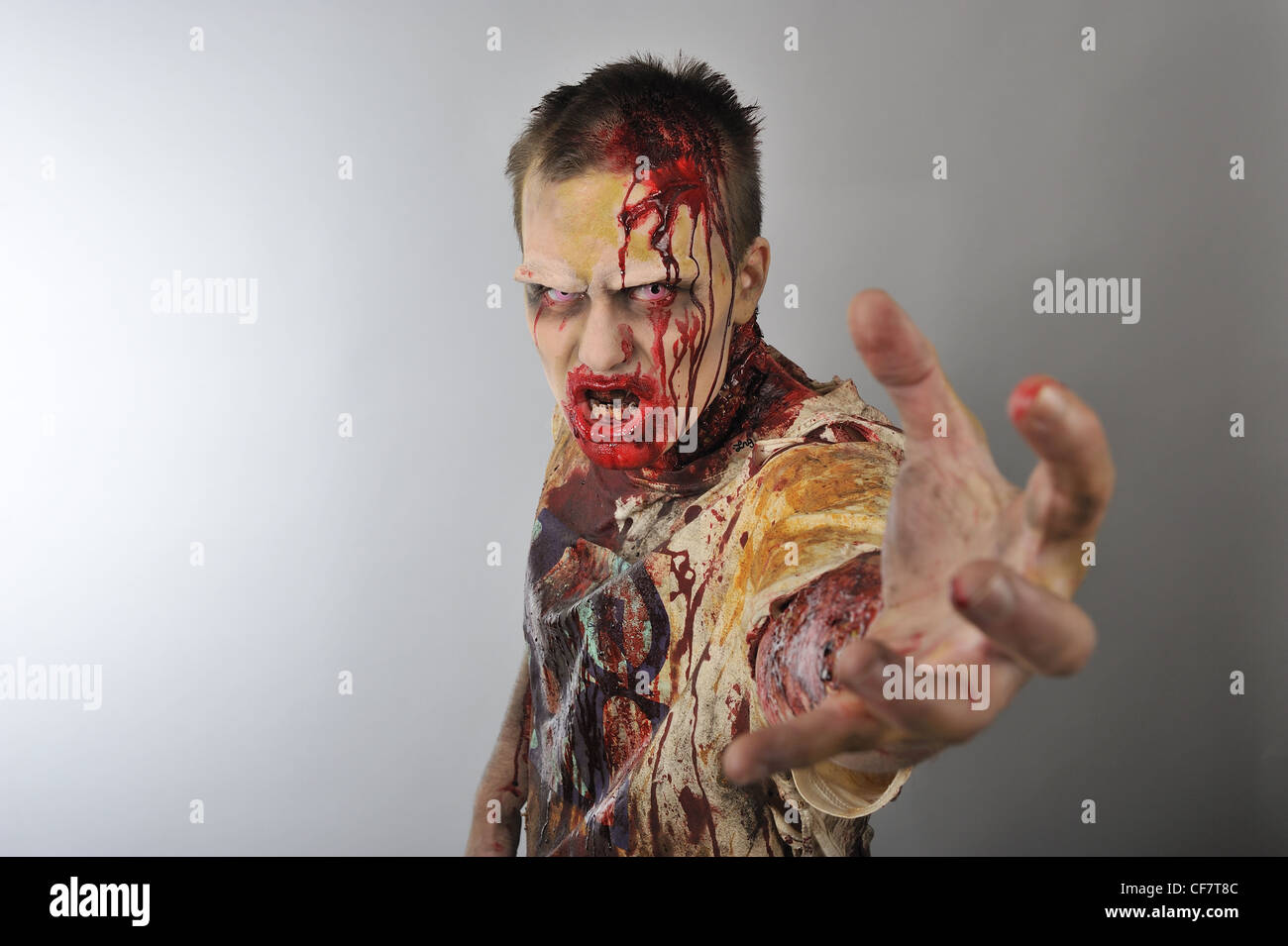 A zombie grab you - Stock Image