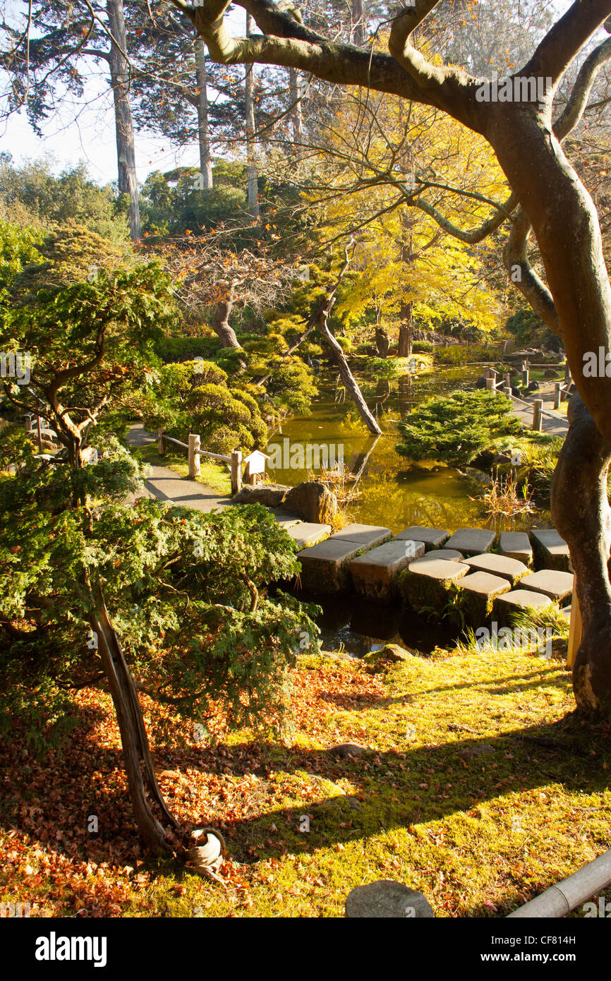 Japanese gardens in golden gate park, san francisco,california ,usa ...