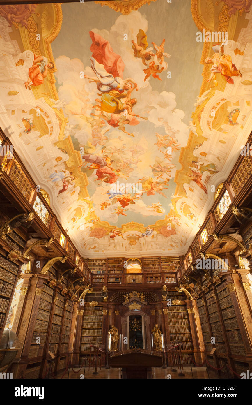 Melk Abbey Library Stock Photos  Melk Abbey Library Stock-6413
