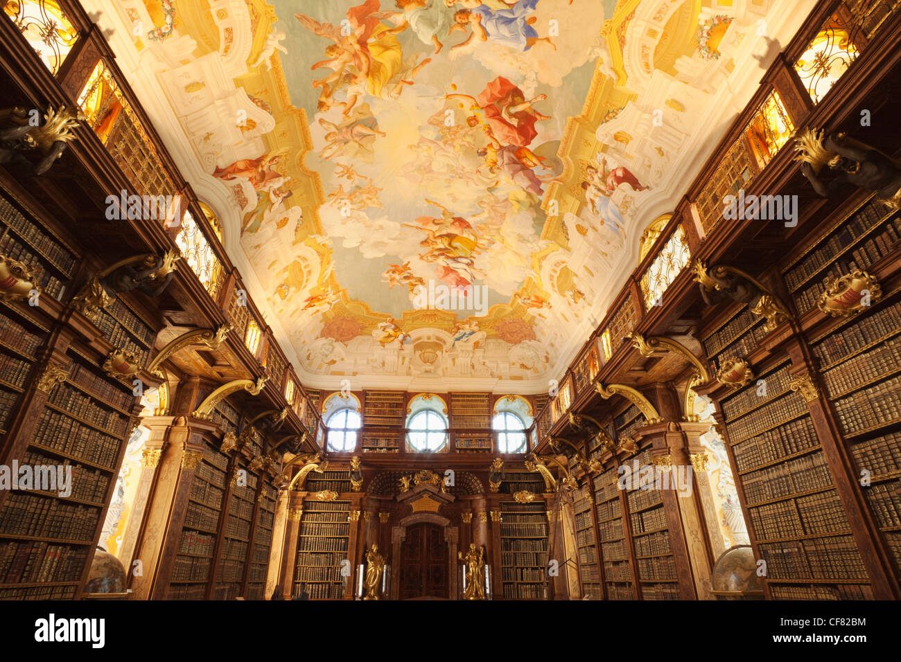 Melk Abbey Library Stock Photos  Melk Abbey Library Stock-5826
