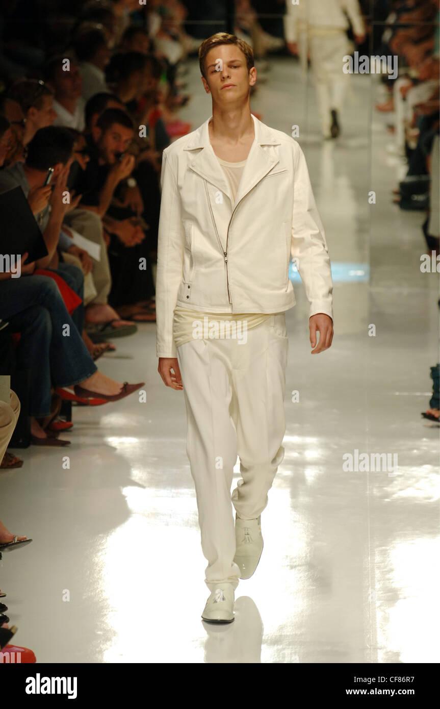 J Lindeberg Milan Ready To Wear Menswear Spring Summer Blonde Male Stock Photo Alamy