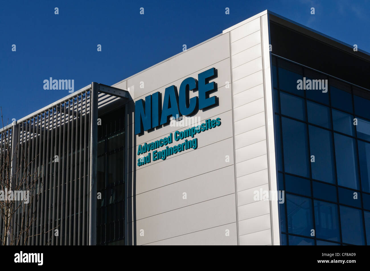 Northern Ireland Adfvanced Composites and Engineering (NIACE) building - Stock Image