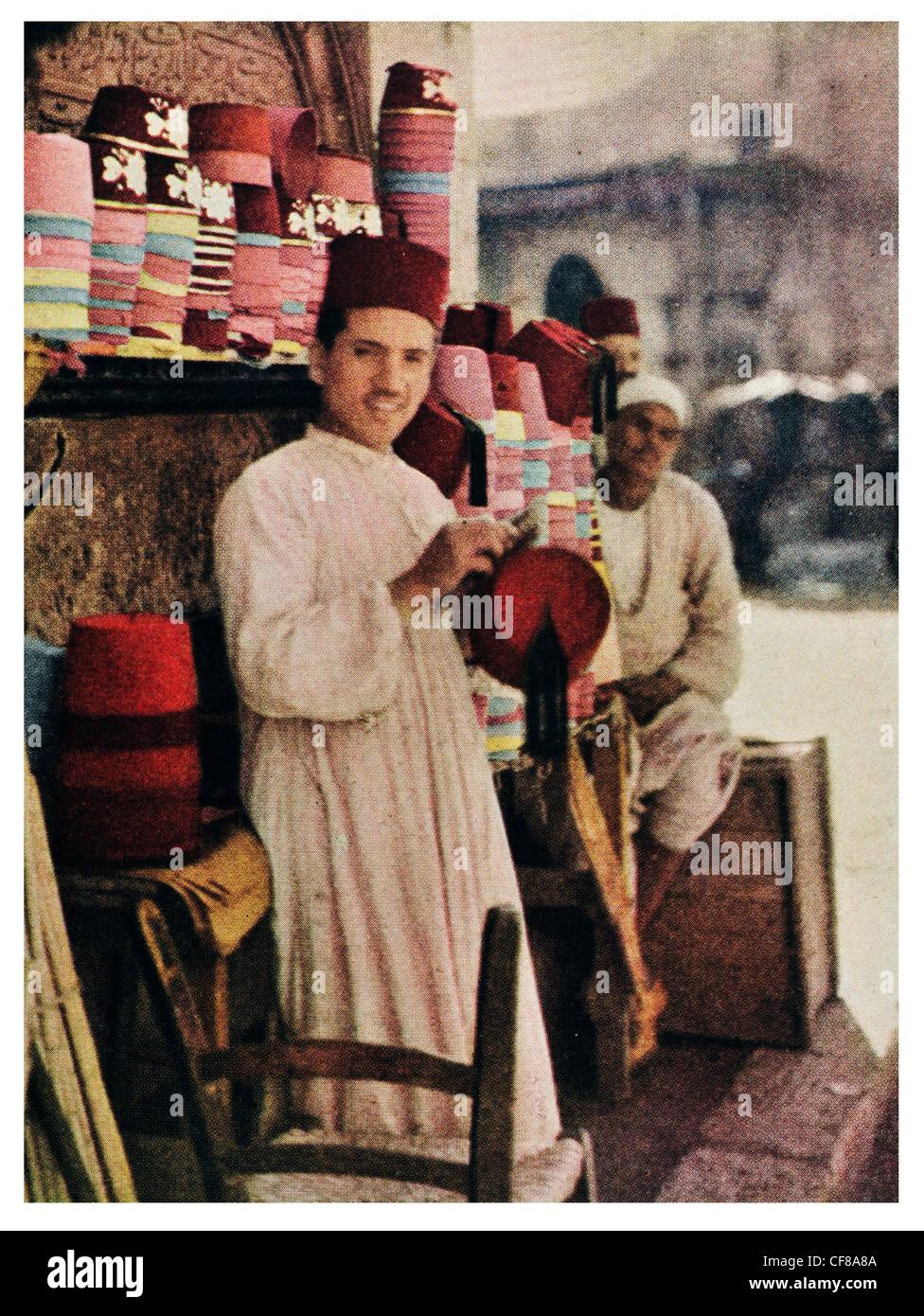 e3dc7bf68 1926 Egypt The Tarboosh Fez Stock Photo: 43824266 - Alamy
