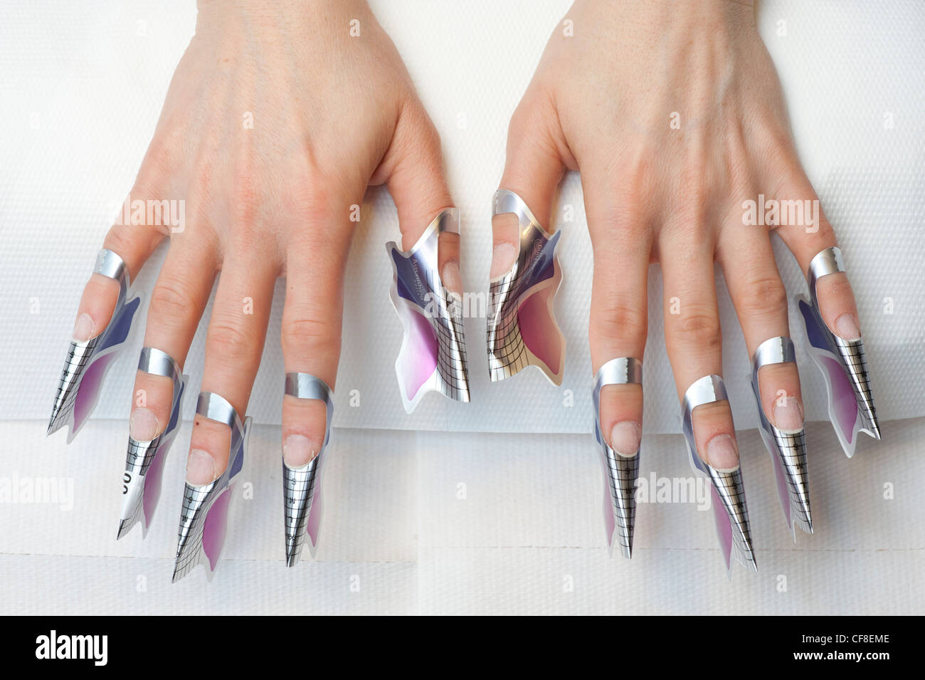 Gel Nails Stock Photos & Gel Nails Stock Images - Alamy