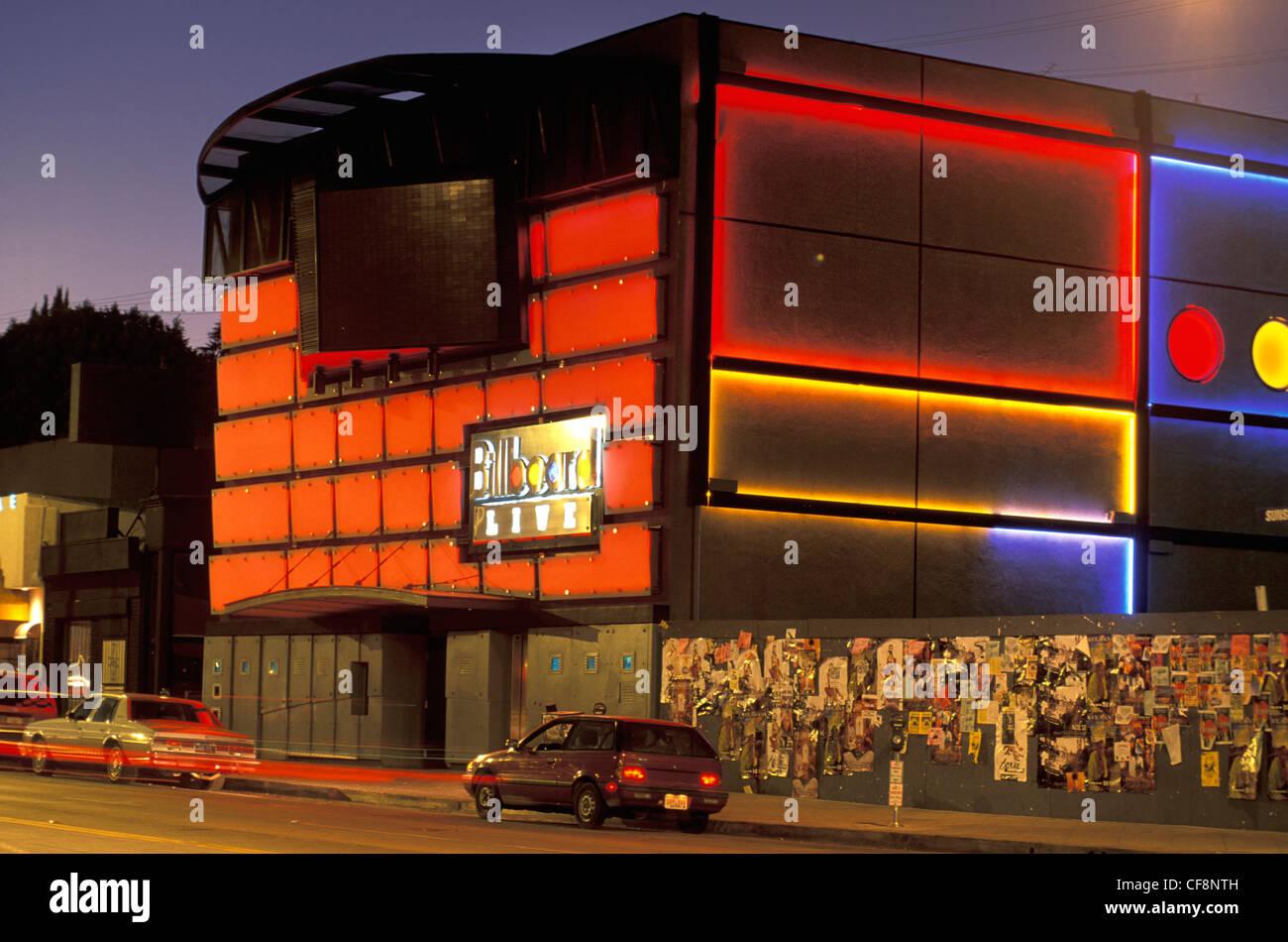 Sunset strip night club
