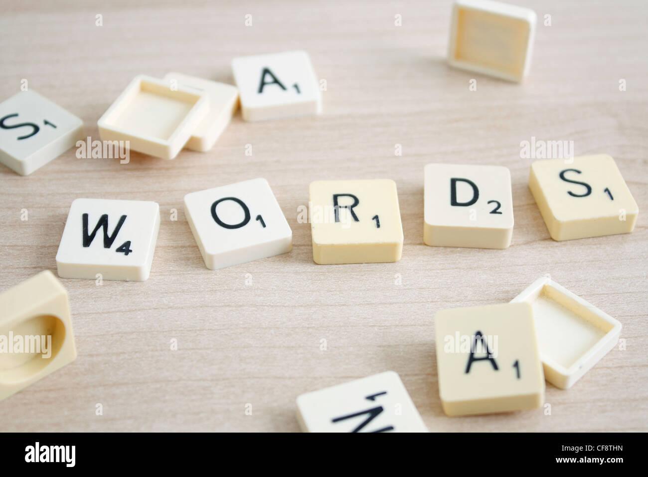 Words - Stock Image