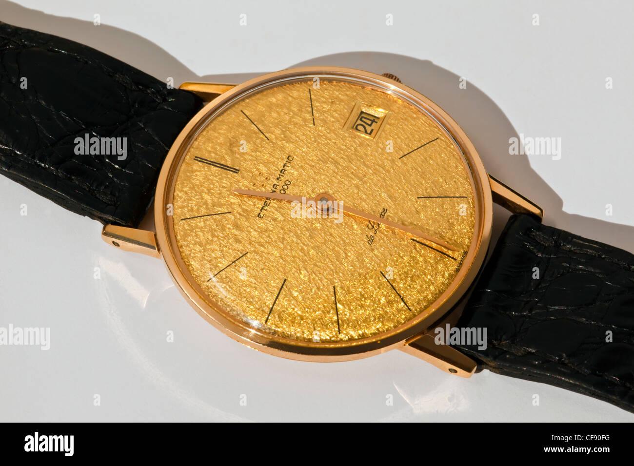 Eterna Matic 3000 de Luxe wrist watch - Stock Image