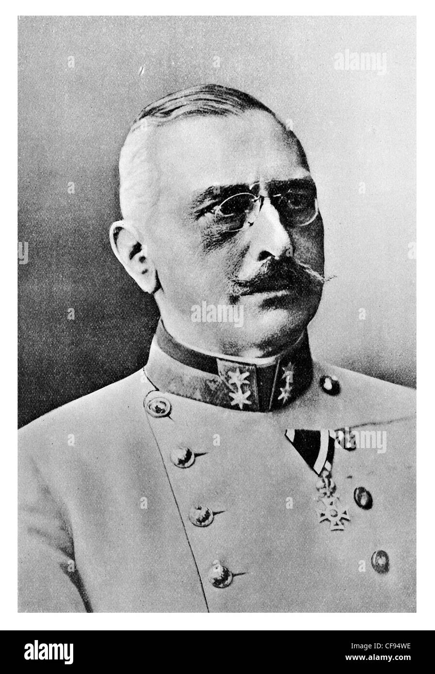 General Count Viktor Dankl von Krasnik highly decorated career Austro-Hungarian officer Stock Photo