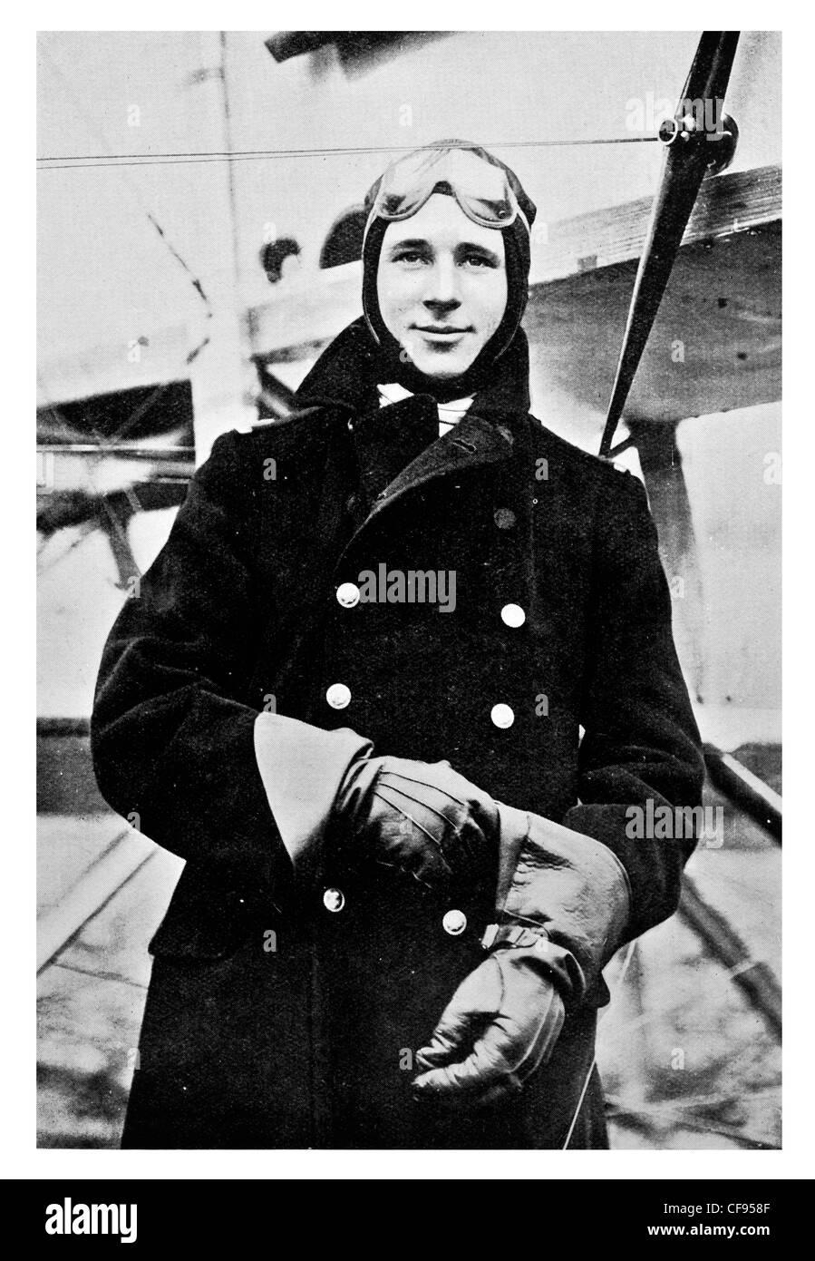 Lieut Reginald Alexander John Warneford, VC Royal Naval Air Service (RNAS) officer who received the Victoria Cross, - Stock Image