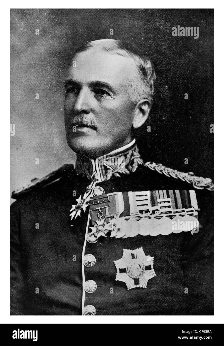 General Sir James Willcocks GCB GCMG KCSI DSO British Army officer who spent most of his career in India and Africa - Stock Image