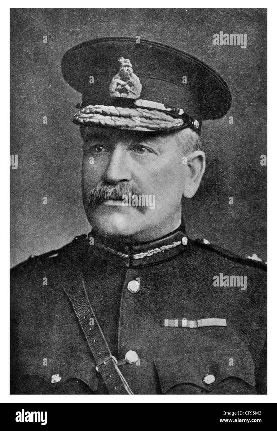 General Sir Charles Carmichael Monro, 1st Baronet of Bearcrofts, GCB, GCSI, GCMG, British Army General during World - Stock Image