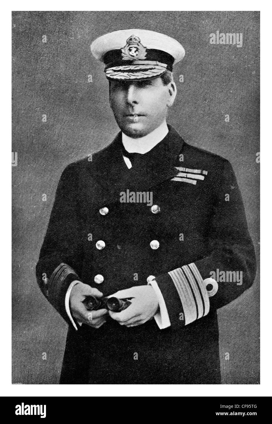 Vice Admiral Sir Reginald Hugh Spencer Bacon, KCB, KCVO, DSO Royal Navy cleverest officer in the Navy - Stock Image