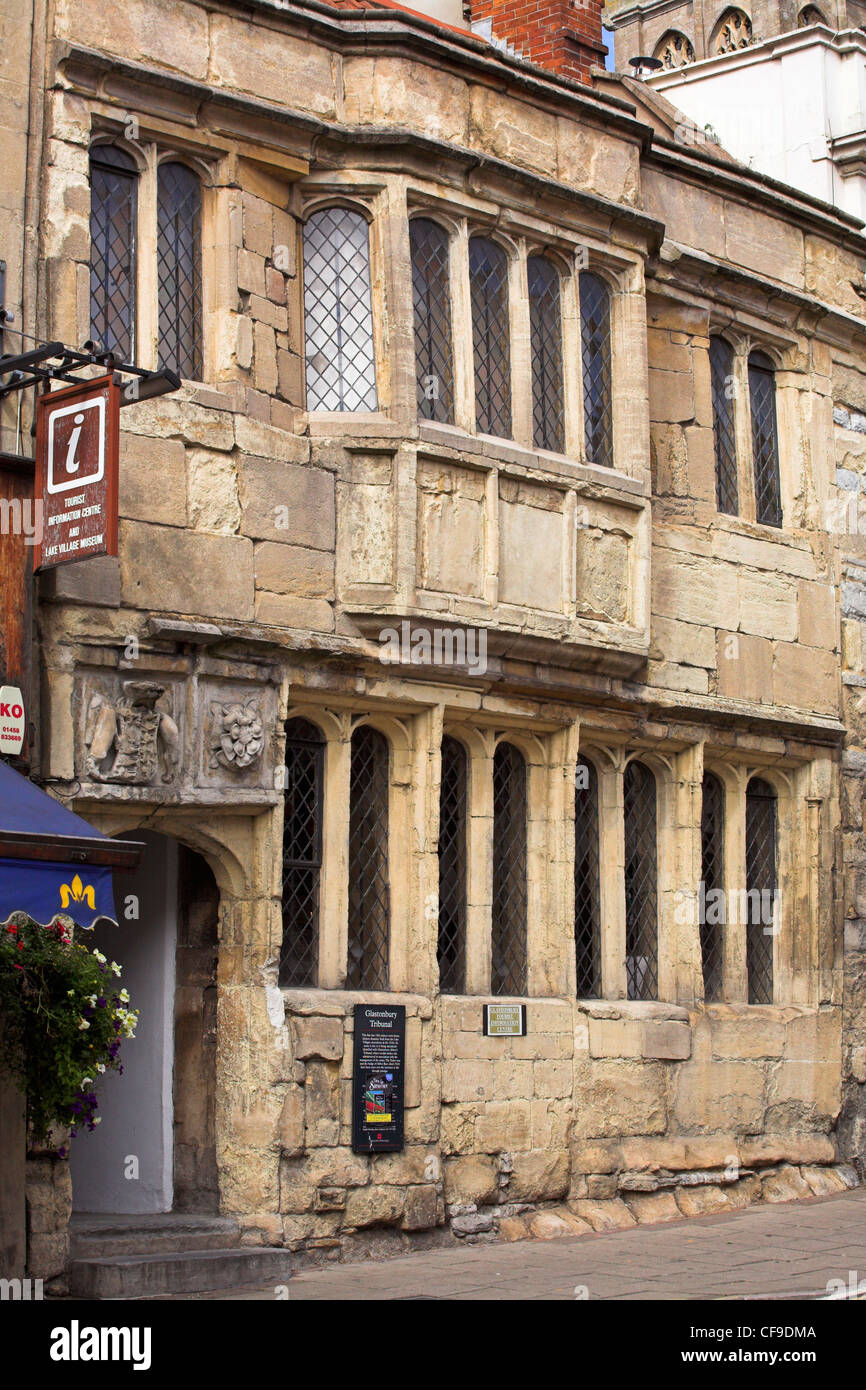 The Tribunal, Glastonbury, Somerset, England, UK - Stock Image