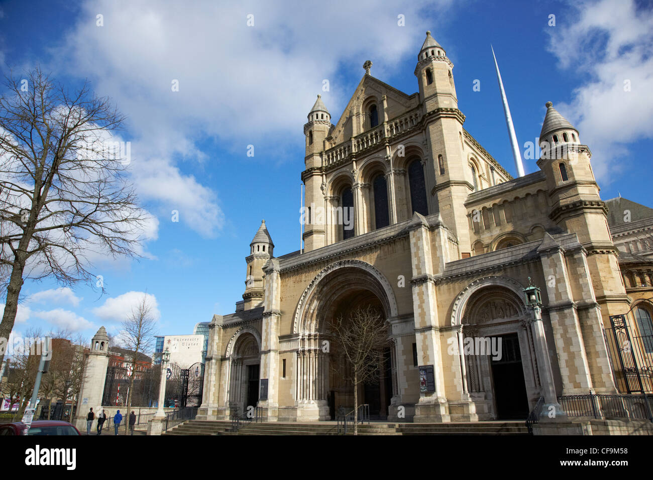 St Annes Belfast Cathedral Northern Ireland UK - Stock Image