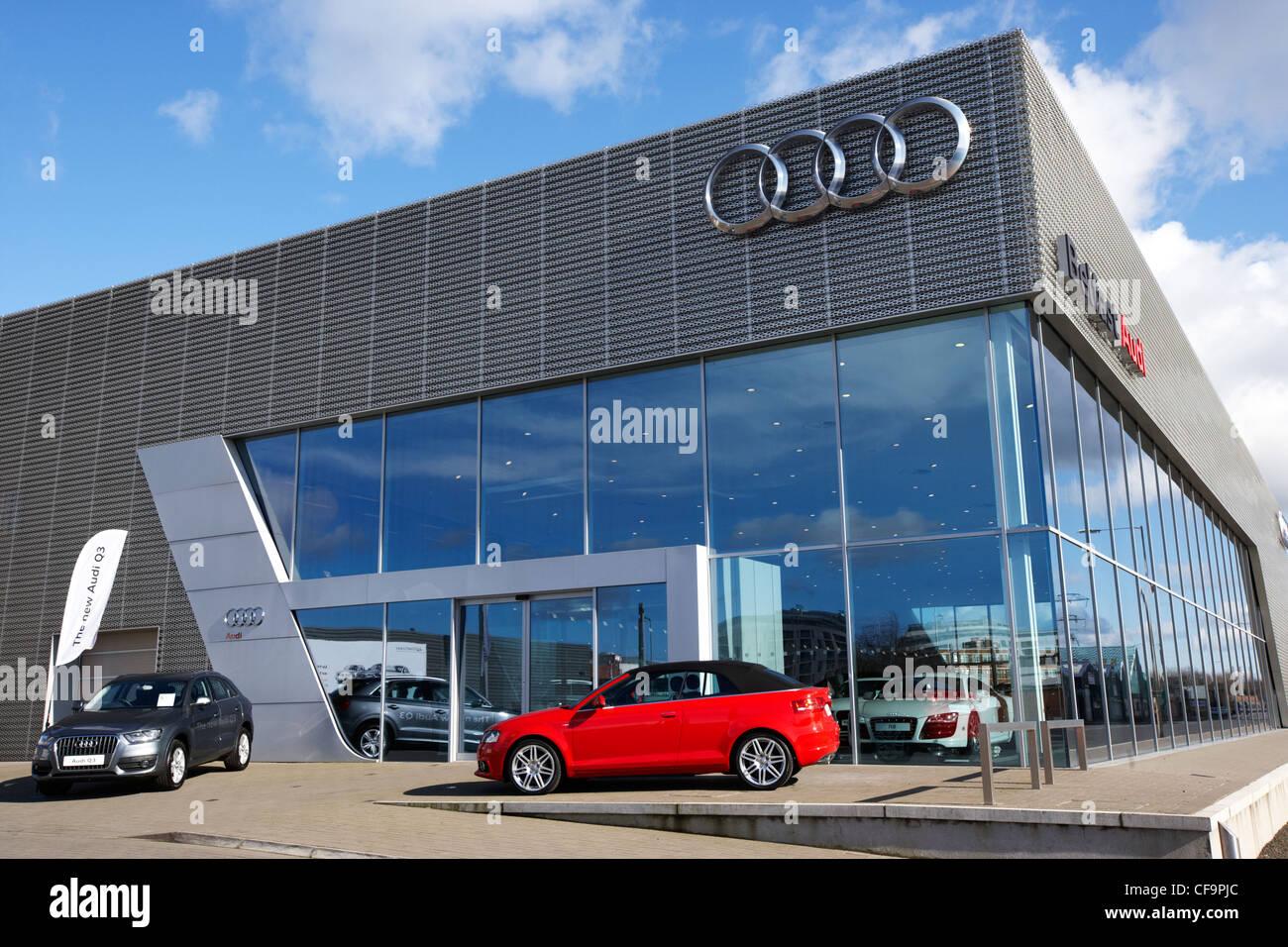 Audi Car Dealership Stock Photos Audi Car Dealership Stock Images - Audi car dealership