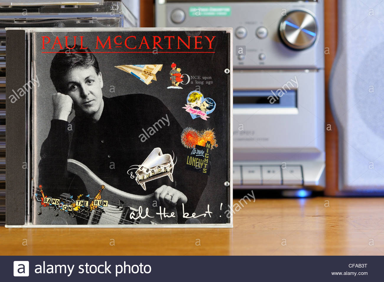 Paul McCartney All The Best Album CD Cases England