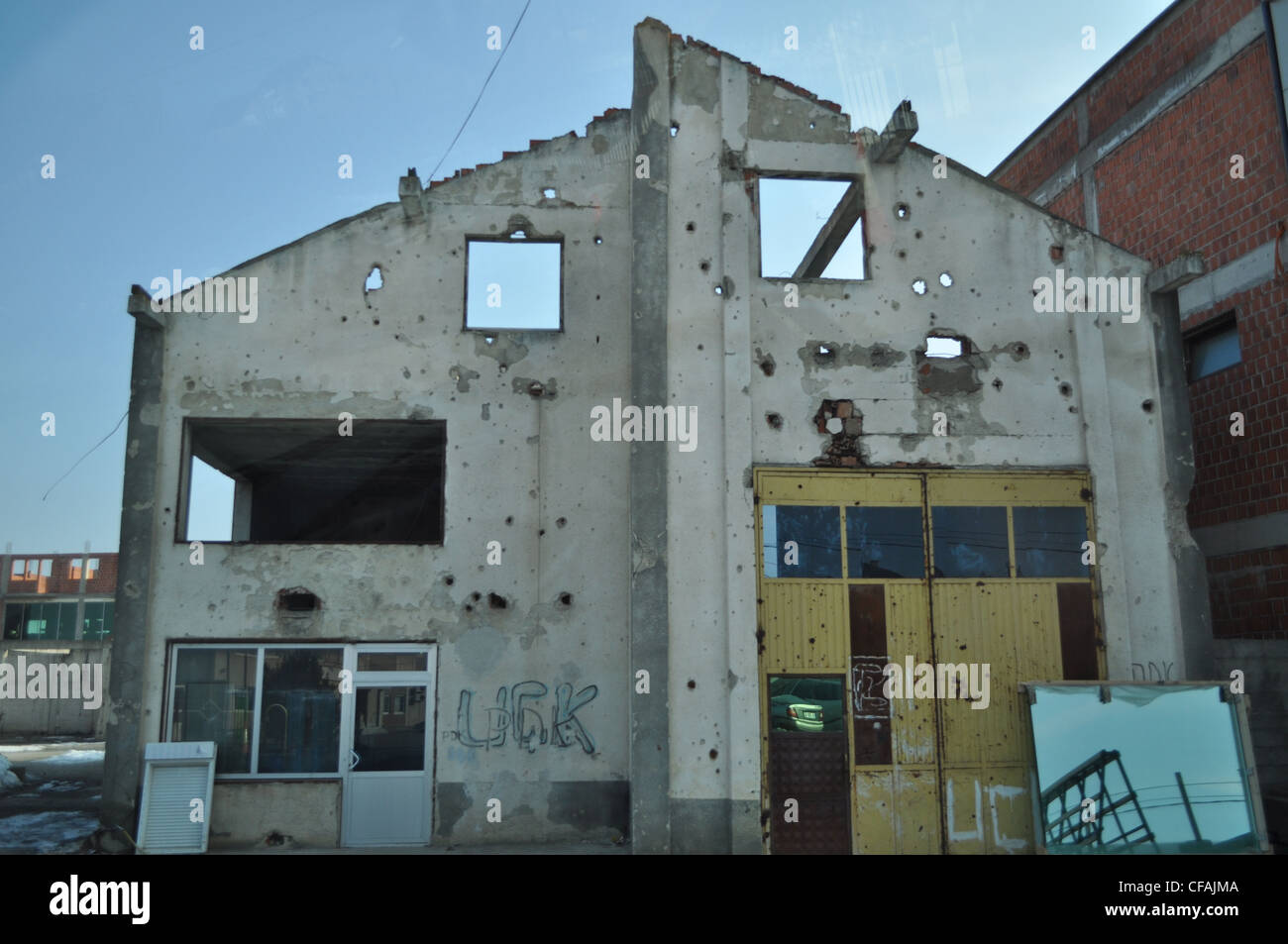 Kosovo, bullet, guns, war, Uck - Stock Image