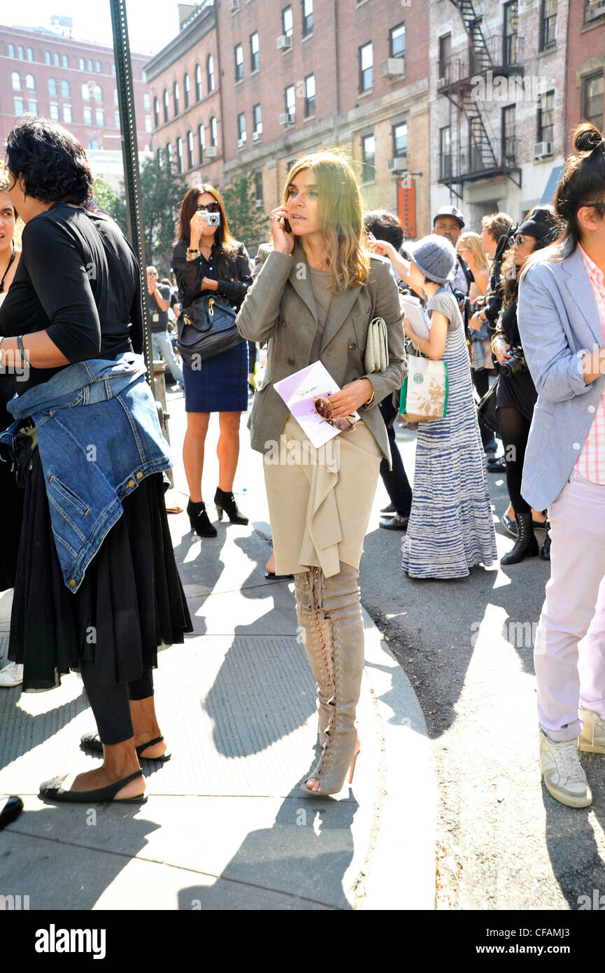 New York Street Style Spring Summer 2011 French Vogue Editor