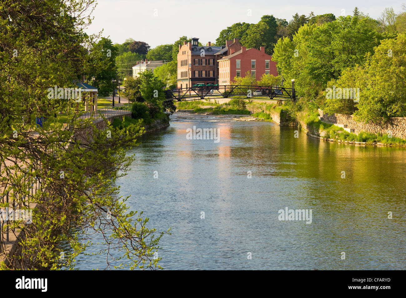 Rotary Park in Port Hope, Ontario, Canada. - Stock Image