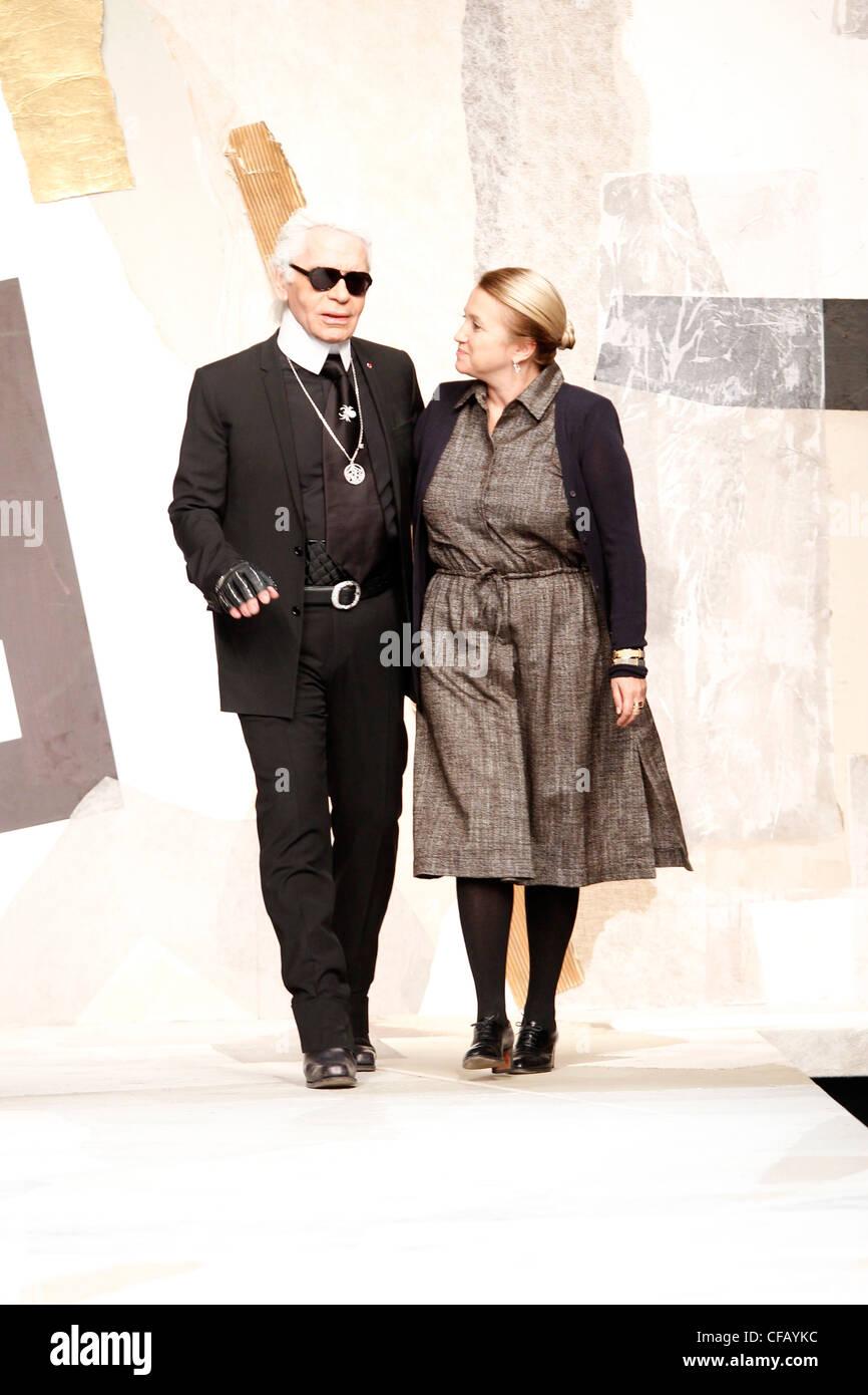 dbe2905830b8 Fendi Milan Ready to Wear Autumn Winter 2011 2012 Fashion designers Karl  Lagerfeld and Sylvia Fendi
