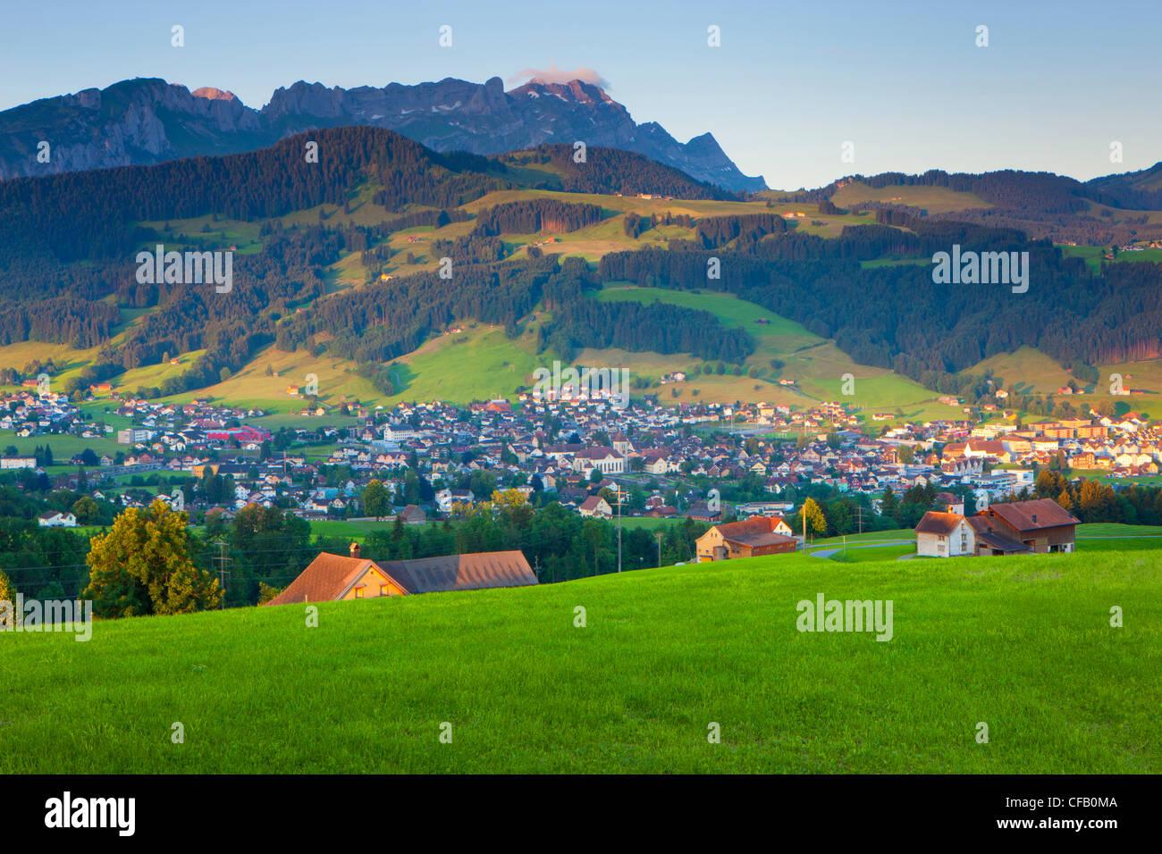 Appenzell Switzerland Appenzell Innerrhoden Town Stock Photos