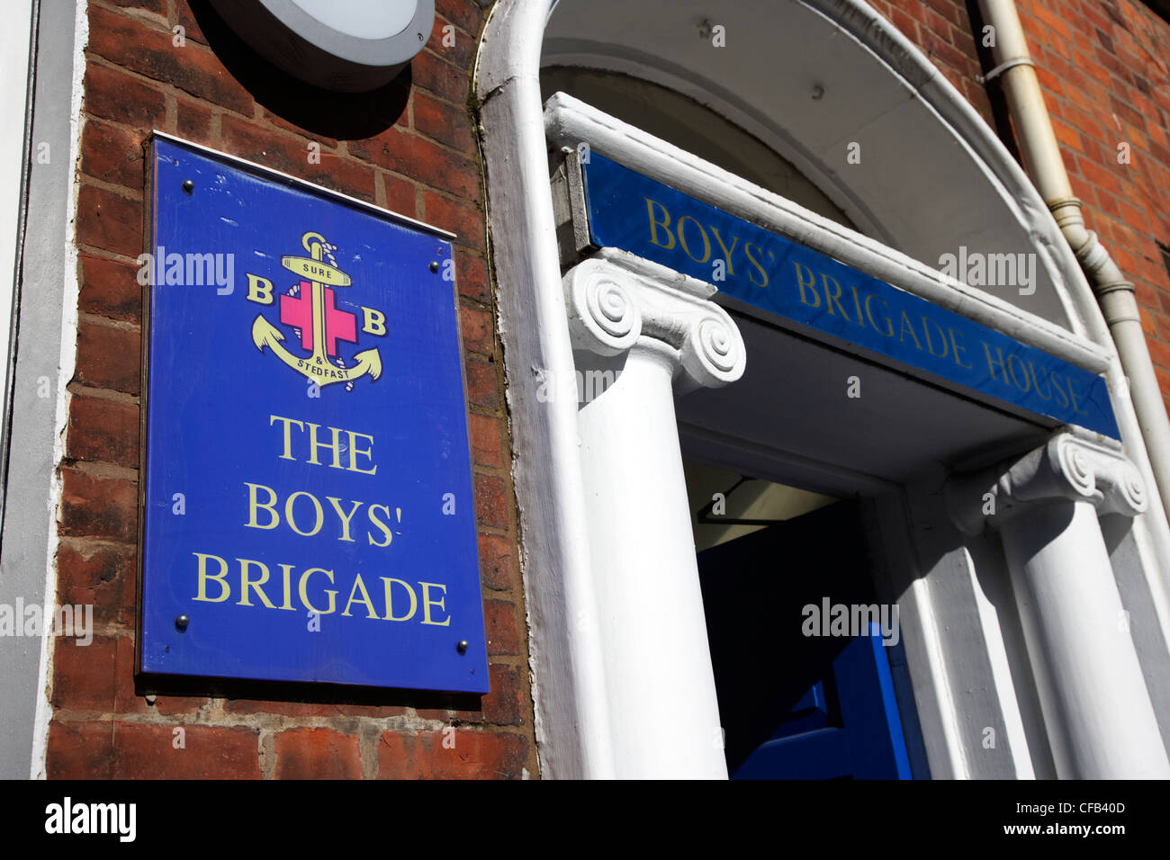 Boys brigade stock photos boys brigade stock images alamy the boys brigade offices belfast northern ireland uk stock image thecheapjerseys Image collections