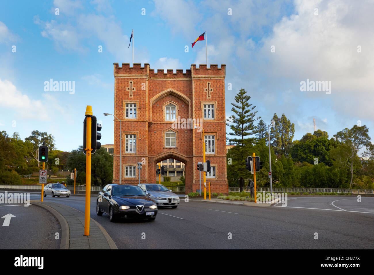 Barracks Arch, Perth, Western Australia - Stock Image