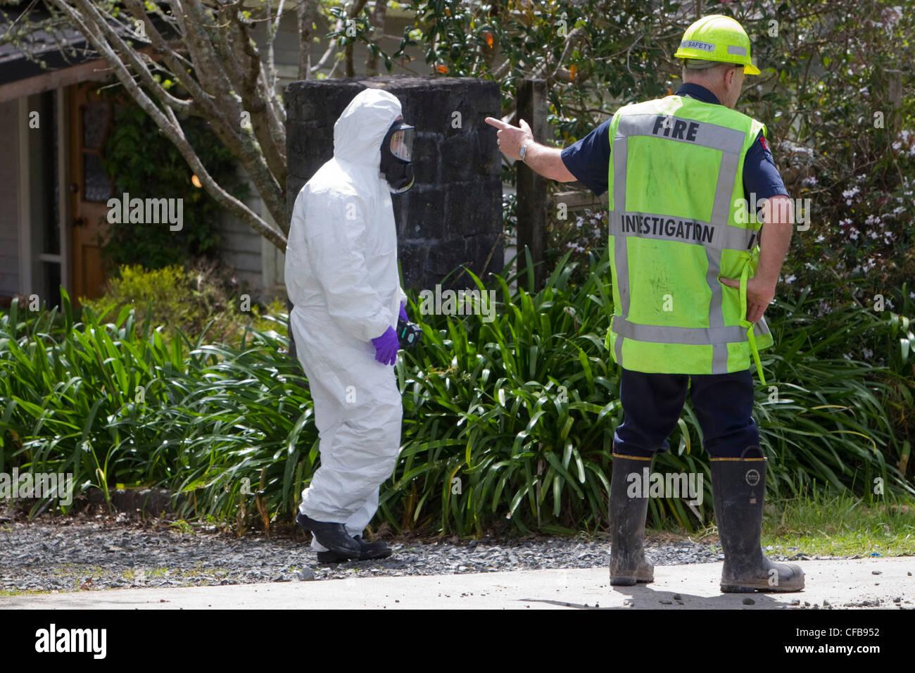 New Zealand Shooting Video Leak Image: Chemical Fire Stock Photos & Chemical Fire Stock Images