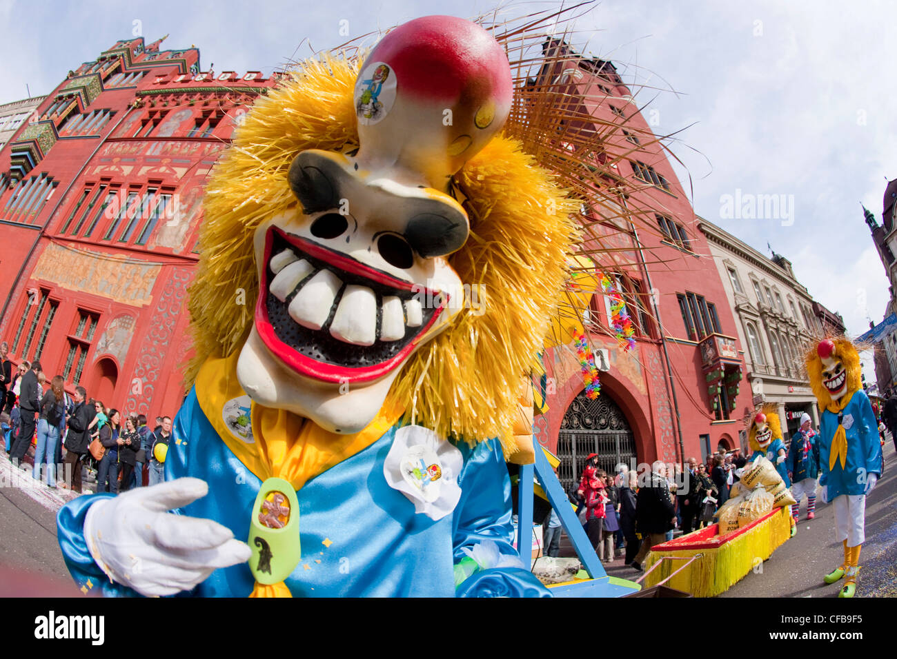 Carnival, carnival, town, city, event, canton, Basel, Switzerland, Europe, town, city, Basel carnival, marketplace, Stock Photo