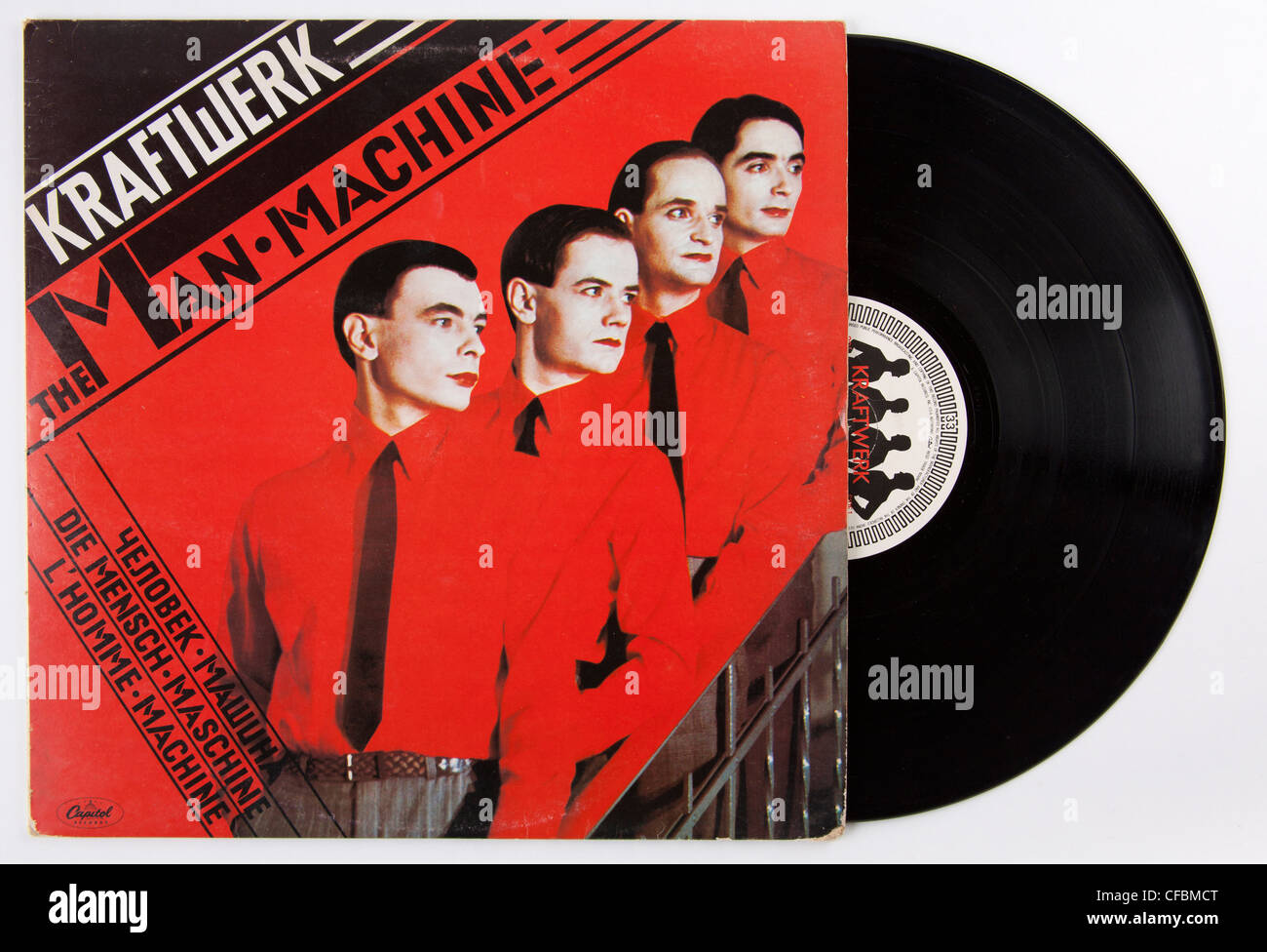Kraftwerk, The Man Machine album Stock Photo
