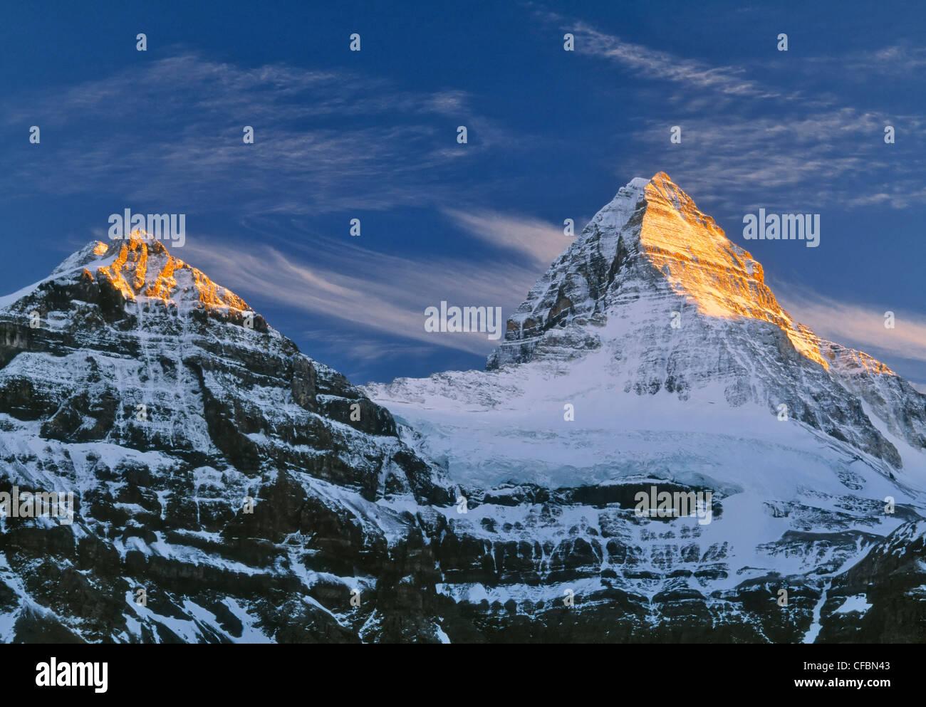 Mount Assiniboine, Mount Assiniboine Provincial Park, British Columbia, Canada Stock Photo