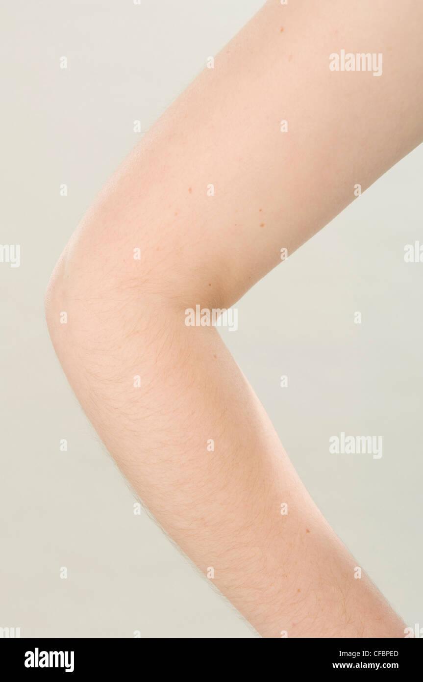 Female arm - Stock Image