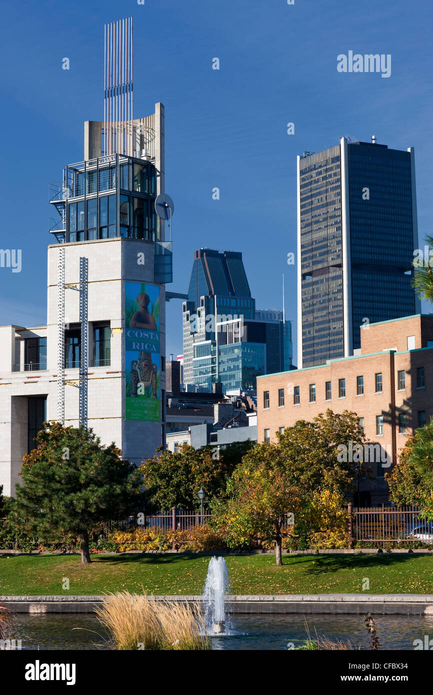 Montreal Museum of Anthropology and History, Old Montreal, Quebec, Canada. - Stock Image