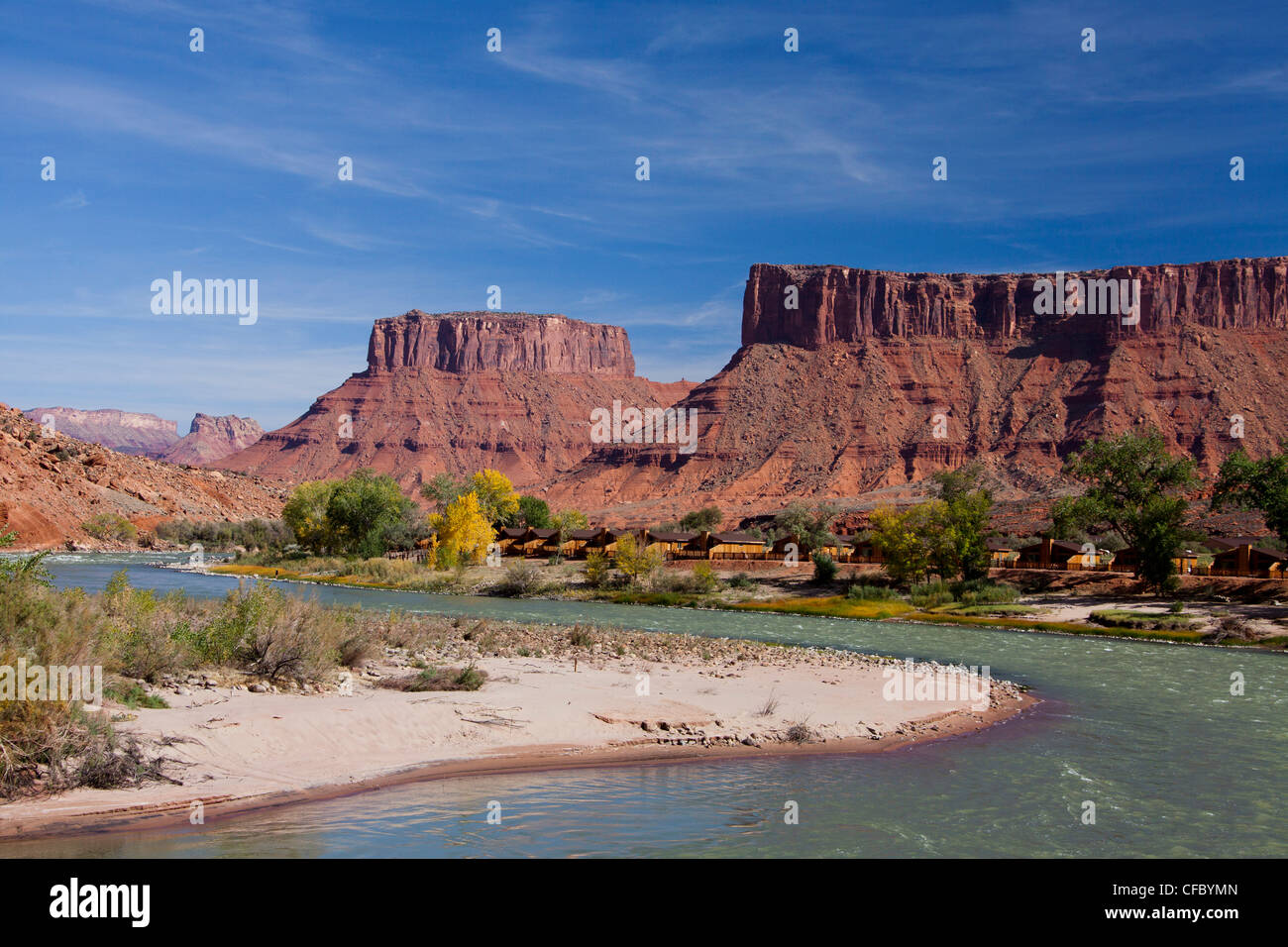 USA, United States, America, Utah, Colorado River, Moab, adventure, big, bend, dry, erosion, formation, geology, - Stock Image
