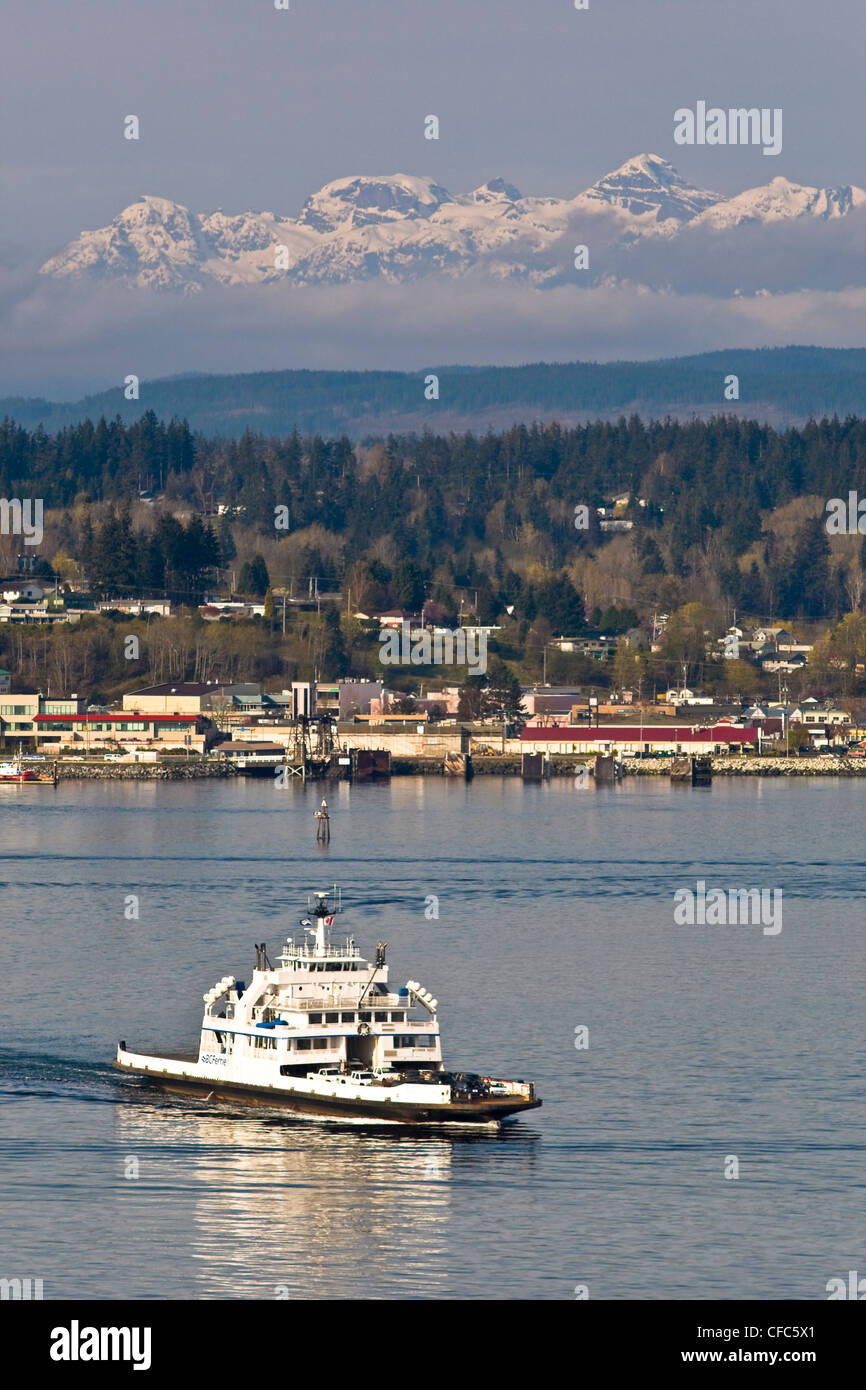 The Powell River Queen plies waters Discovery - Stock Image