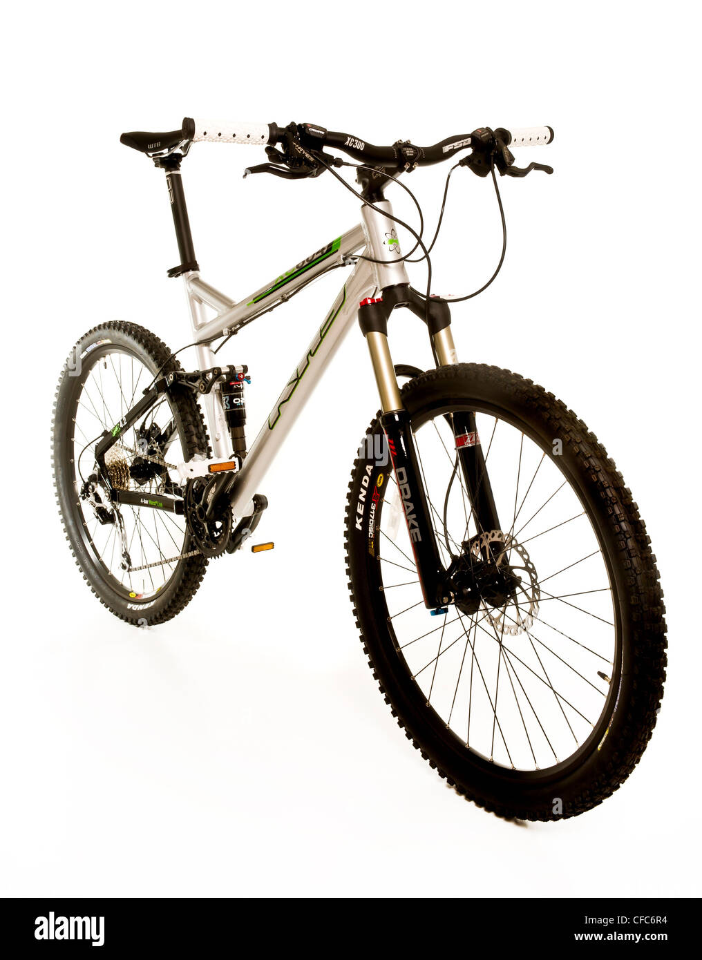 Mans mountain bike - Stock Image