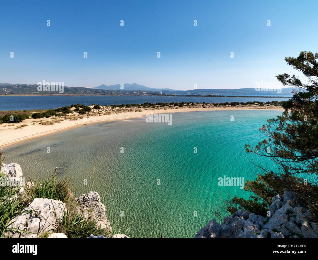 Bay of Navarino, Pylos, Peloponnes, Greece - Stock Image