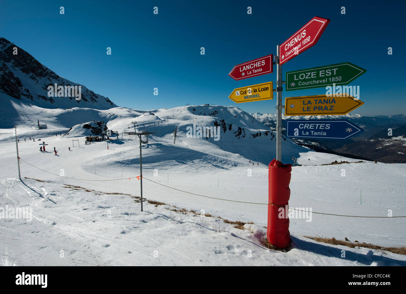 La Tania Stock Photos La Tania Stock Images Alamy