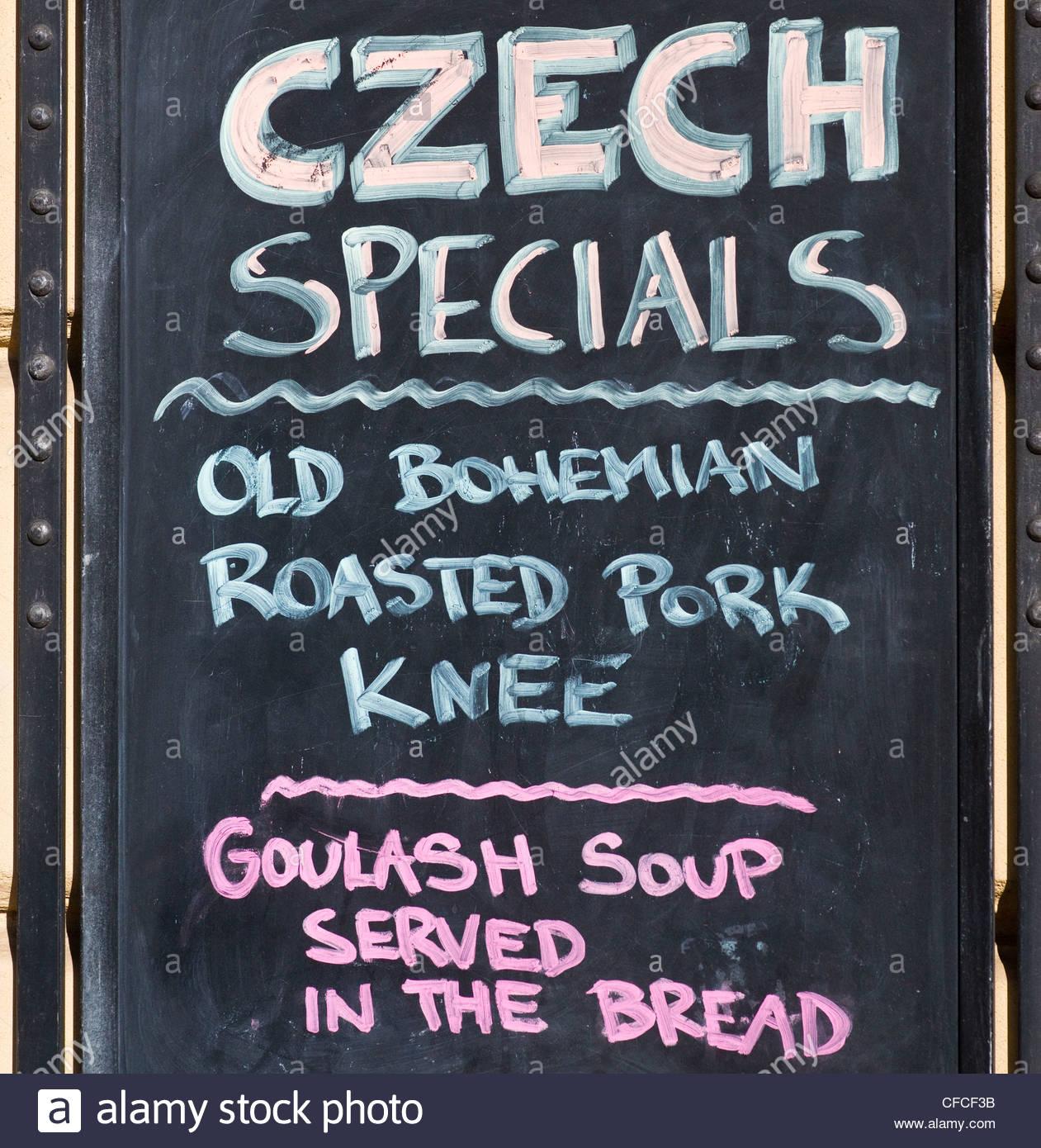menu menus food restaurant c - Stock Image