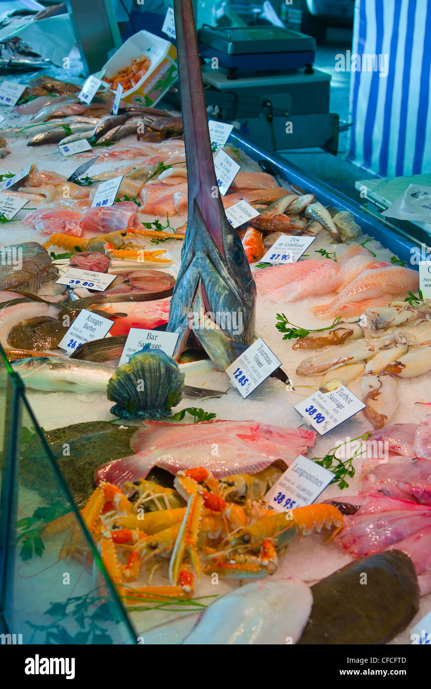 Meeresfrüchte - Seafood - Stock Image